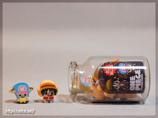 One Piece mini erasers